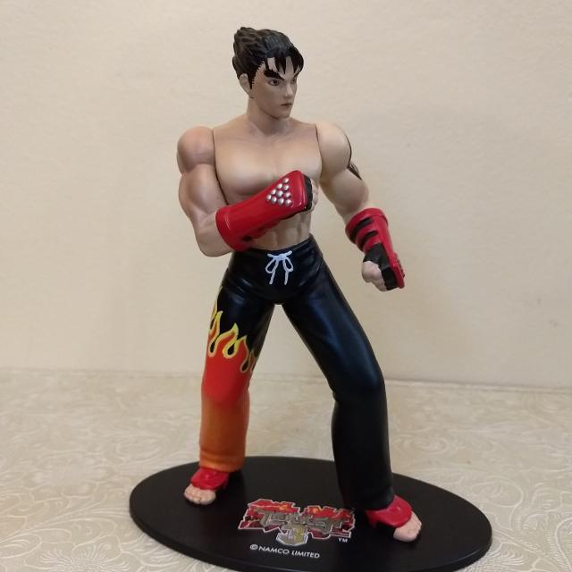 best tekken 3 jin kazama action figure from 1998 rare for sale in
