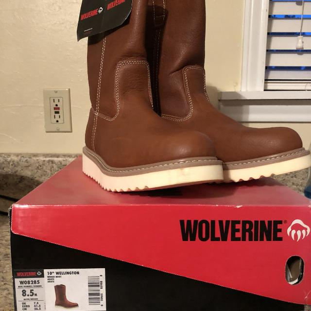 d0ac0085206 NEW Wolverine wedge sole boots