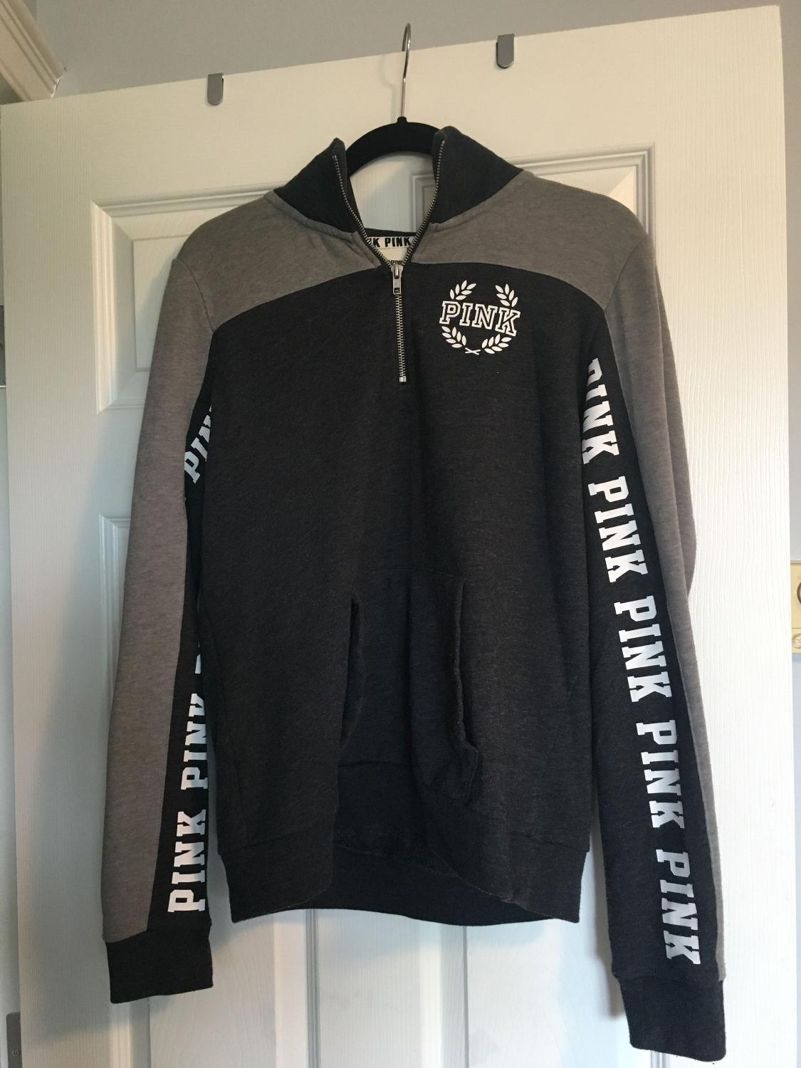 91349b7860eca Victoria Secret Half Zip Sweatshirt « Alzheimer's Network of Oregon