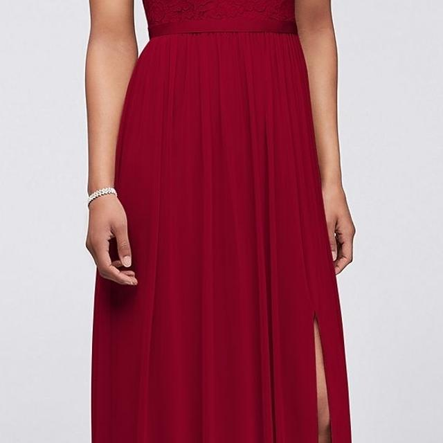 fabeb76795 Best Long One Shoulder Lace Bridesmaid Dress for sale in Richmond Hill