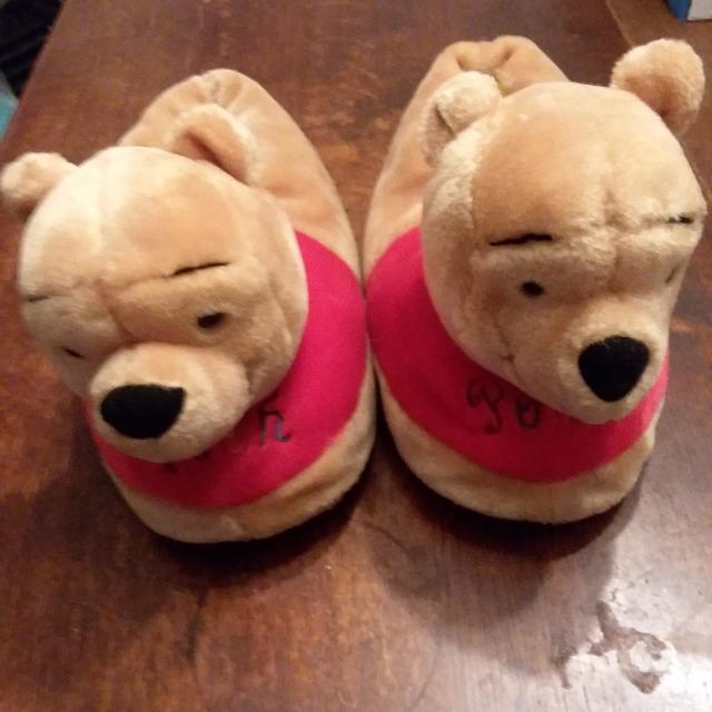 db8e9468ce9c Best Adult Size 9-10 Winnie Pooh Slippers for sale in Bedford County ...