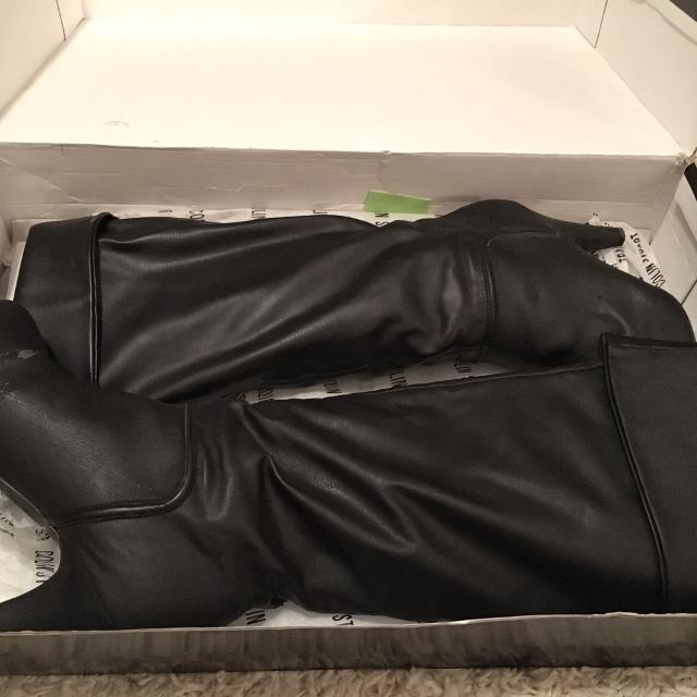 2973d4316fe Best Colin Stuart Black Slouch/knee High Boots By Victoria's Secret for  sale in Pensacola, Florida for 2019