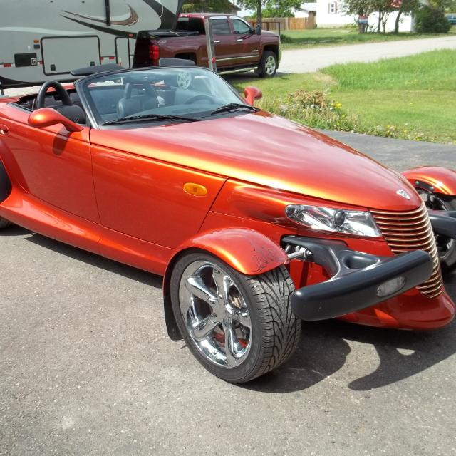 Best 2001 Chrysler Prowler For Sale In Airdrie, Alberta
