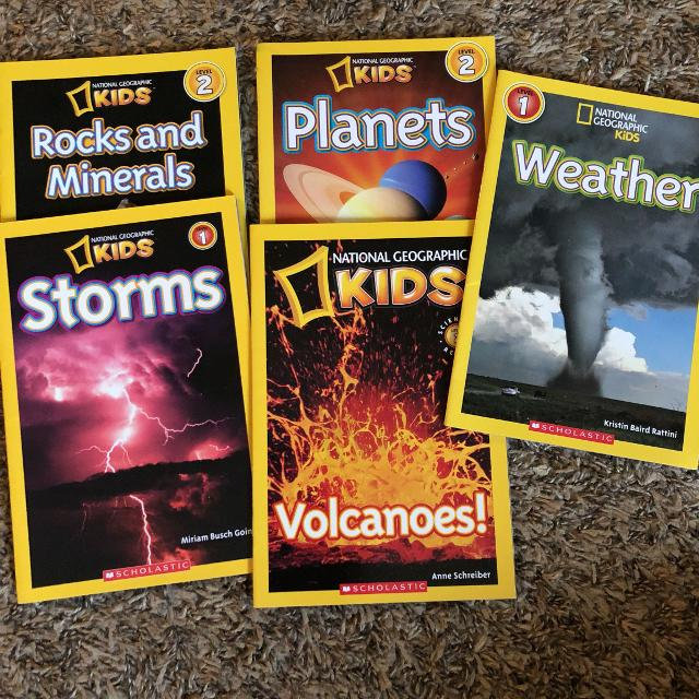 5 National Geographic kids books