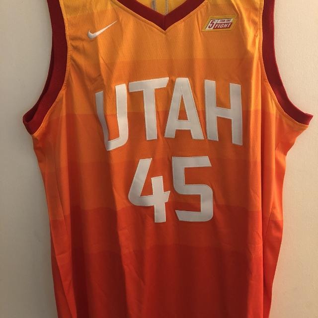 Best Donovan Mitchell Utah Jazz 2018 City Version Jersey for sale in  Lansing dd73f8051a60