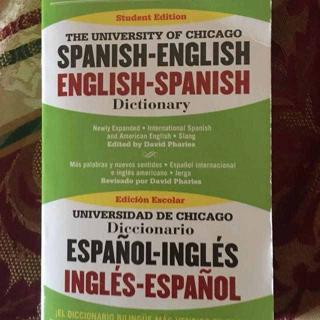efa3a0a1fb Find more Spanish English Dictionary for sale at up to 90% off