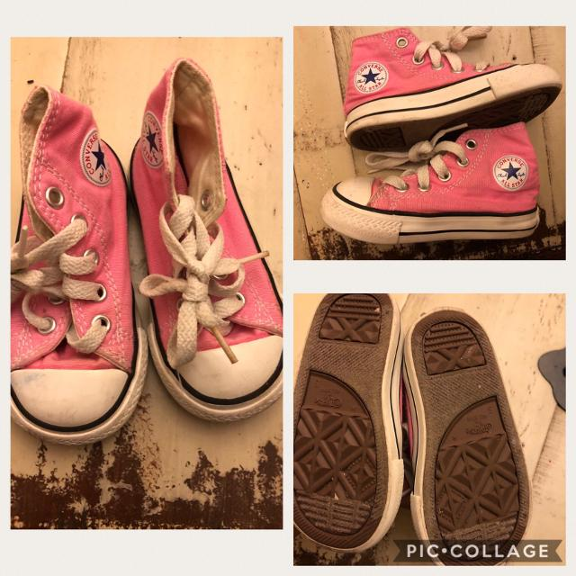 Find more Size 5 Little Girls Converse Shoes for sale at up to 90% off d221b3a40