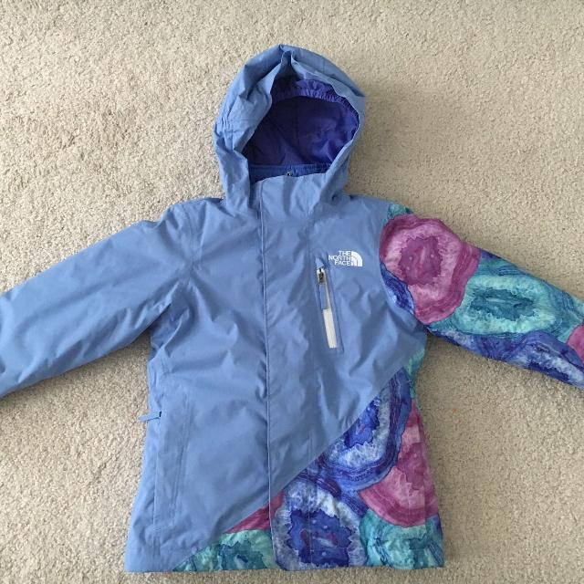 000352dc8 Girls The North Face Abbey Triclimate Winter Jacket Size 6**BRAND NEW**