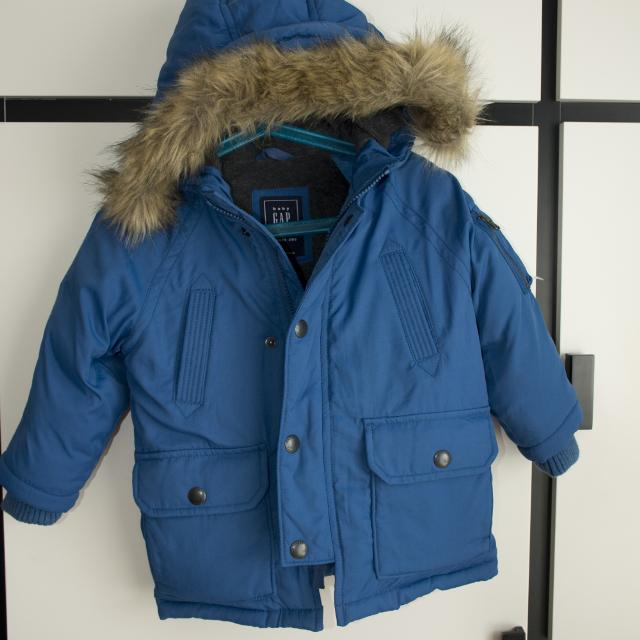 88c38b138 **NEW** GAP baby boys Down Puffer Parka size 2 years