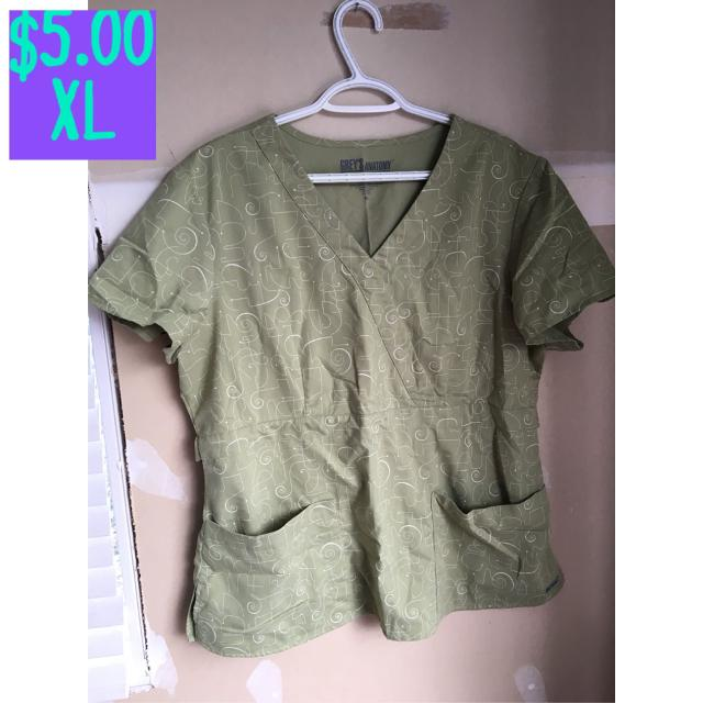 Find More Grey S Anatomy Scrub Top Xl For Sale At Up To 90 Off