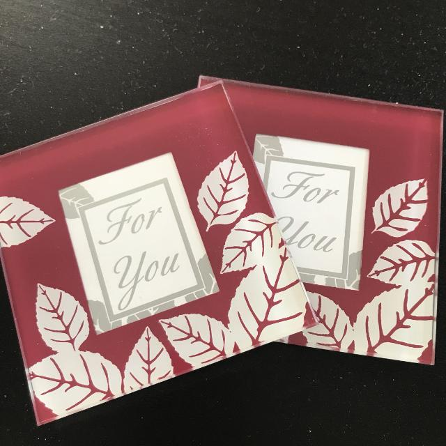 Best Glass Coasters W Picture Insert For Sale In Oshawa Ontario