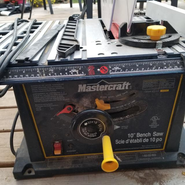 Best mastercraft portable table saw for sale in regina saskatchewan mastercraft portable table saw greentooth Images