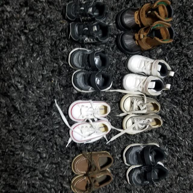 3400c9450 Best Boy Shoe Lot. Only 4 Pair Left. for sale in Brazoria County ...