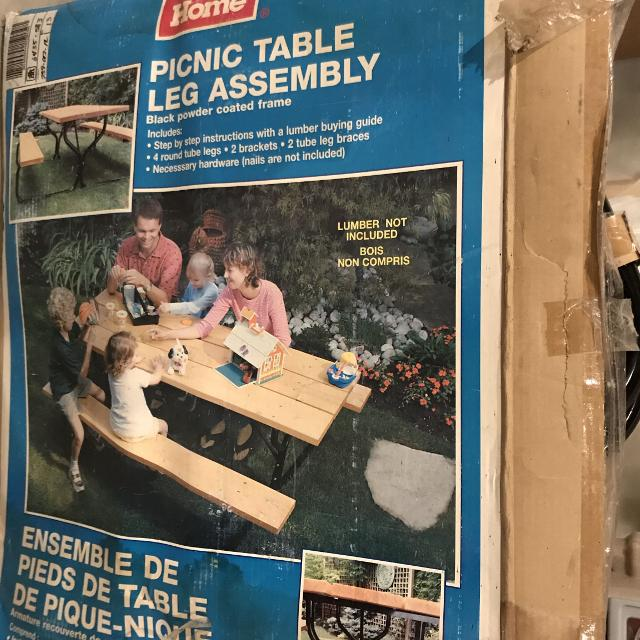 Best Picnic Table Kit For Sale In Airdrie Alberta For - Picnic table hardware kit