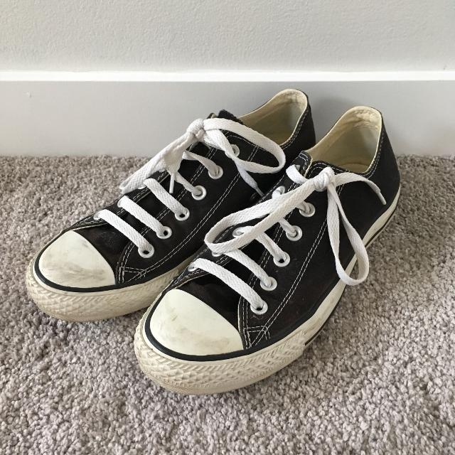 4435d9bca2e2 Find more Women s Size 9 Black Converse All Star Shoes for sale at ...