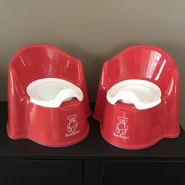 0852cacc047 Find more Vvguc-euc - Baby Bjorn Set Of 2 Potties (red) for sale at ...