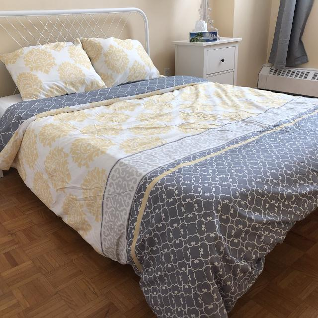 Find More Ikea Nesttun Full Double Bed Frame 100 For Sale At Up To