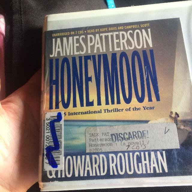 James Patterson Honeymoon CD story