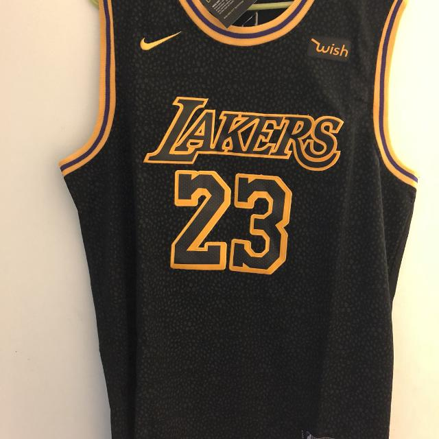 new style 6b006 54259 Los Angeles Lakers LeBron James jersey size 2 XL
