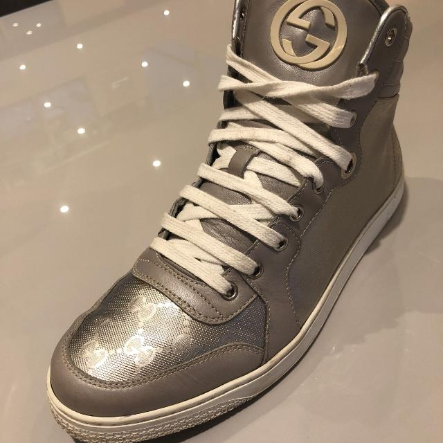 Best Men s Leather High Top Gucci Shoes Size 8 Euro (men s 9.5 Usa) for  sale in Victoria cf91d4e85a84
