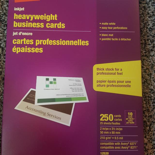 Best printer paper for business cards for sale in regina printer paper for business cards reheart Choice Image