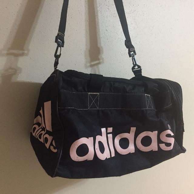 21b5839b6242 Find more Black pink Adidas Duffle Bag for sale at up to 90% off