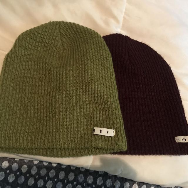 d3ee61f3aa8 Find more 2 Neff Beanies for sale at up to 90% off