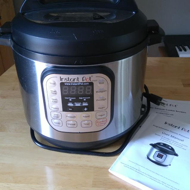 Find More Instant Pot 6 Qt Duo Electric Pressure Cooker For Sale At