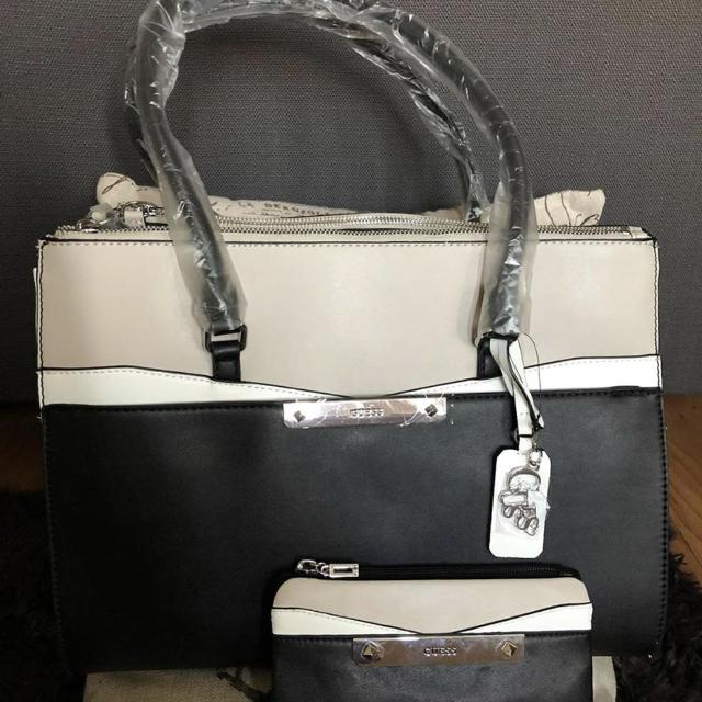 Brand New Guess Bag And Wallet Set