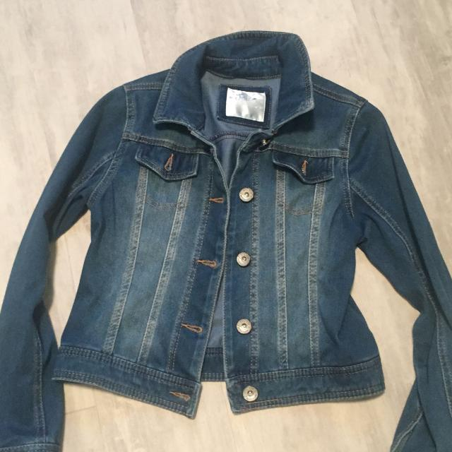 d4fe67a91 Find more Justice Girls Jean Jacket Size 8/10 for sale at up to 90% off