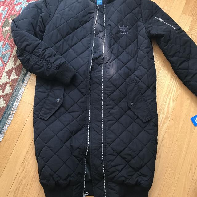 065d7299 Find more Adidas Originals Long Quilted Bomber Jacket - New W Tags ...