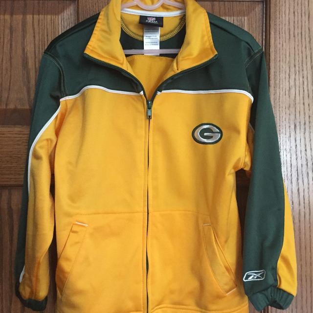 promo code 7430b 9889e GREENBAY PACKERS JACKET SIZE 7 NFL APPAREL