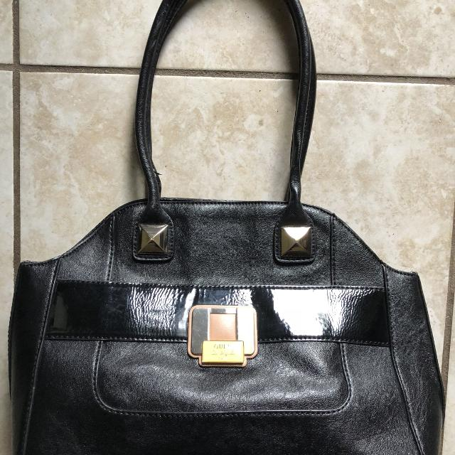 a32086977231 Best  price Drop  Vintage Large Black Guess Purse for sale in Pensacola