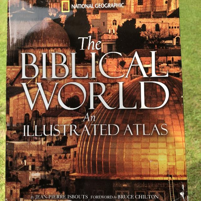 *PRICE DROP* The Biblical World Book by National Geographic