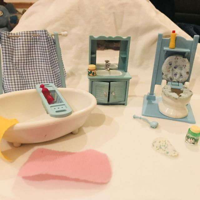 Find More Calico Critters Bathroom Set For Sale At Up To Off - Calico critters bathroom