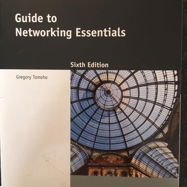Best Guide To Networking Essentials Text Book For Sale In Calgary