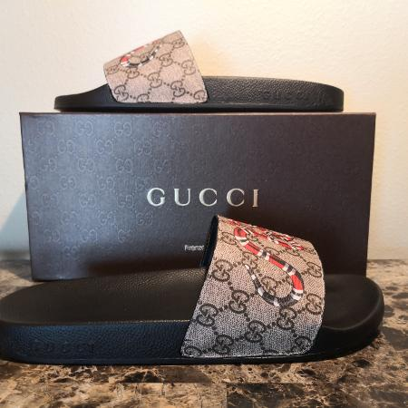 a117203b0 Gucci snake slides size 12 Brand new with the original box and dustbag