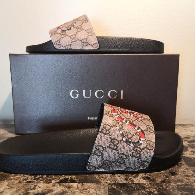 d7d807be237 Best Gucci Snake Slides Size 12 Brand New With The Original Box And Dustbag  for sale in Winter Park