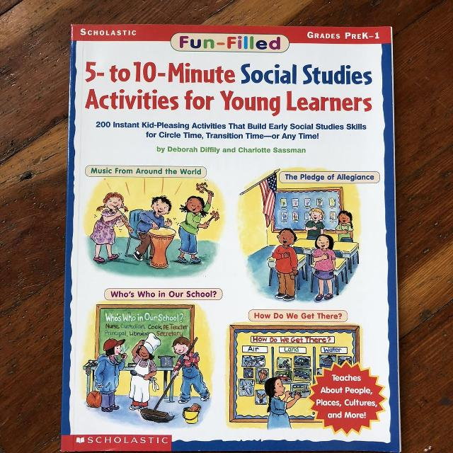 Find More 5 To 10 Minute Social Studies Activities For Young