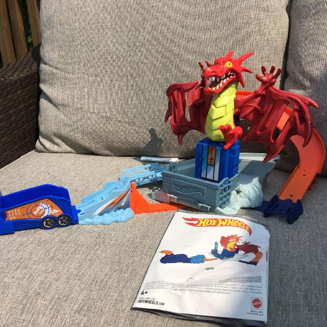 Best Hot Wheels Dragon Track And Instructions For Sale In Clarington