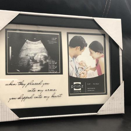 Prinz Baby & Ultrasound Picture Frame... for sale  Canada