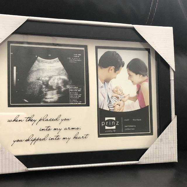 Best Prinz Baby Ultrasound Picture Frame Unopened For Sale In