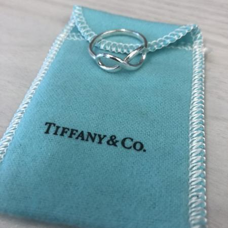 Tiffany & Co. Infinity Ring size 8, used for sale  Canada