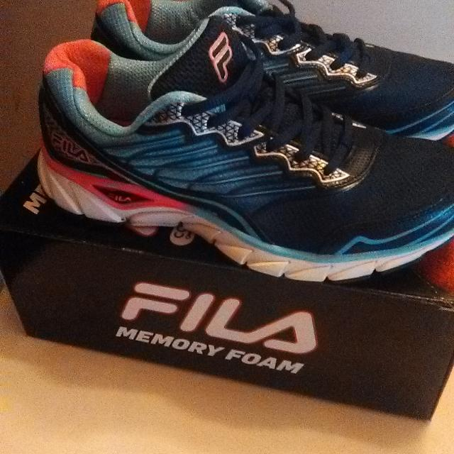 Best Brand New  fila  Memory Foam Running Shoes. Sold For 79.99 for sale in  Griffin 41399d271c21