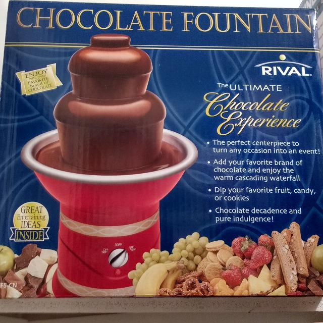 Best Rival Chocolate Fountain Reduced For Sale In Oshawa