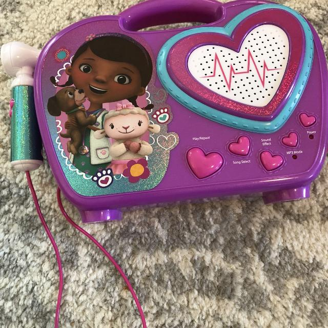 doc mcstuffins music box and mp3 player