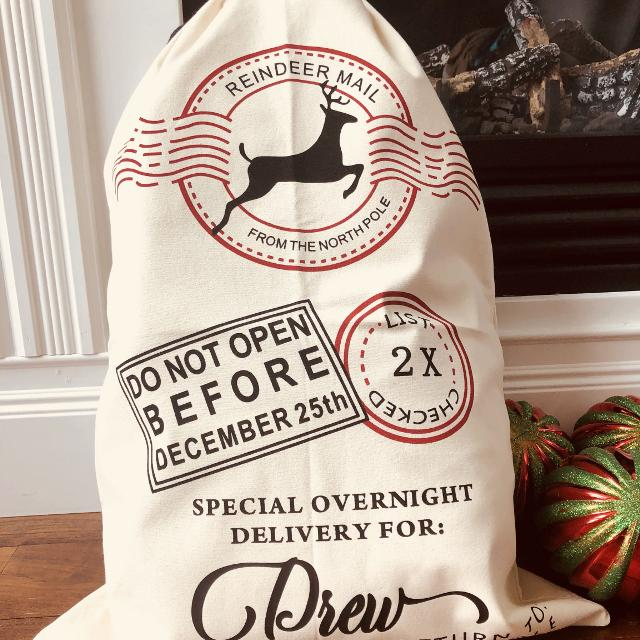 best personalized santa sacks for sale in cobourg ontario for 2018