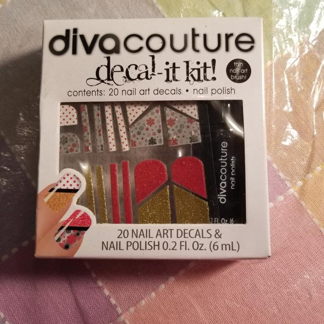 Best Decal It Kit For Nails-20 Nail Art Decals & Nail Polish Kit for ...