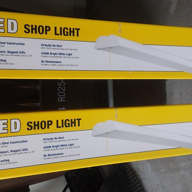 Find More Two Smart Electrician 46 Inch White 3300 Lumen Led Shop
