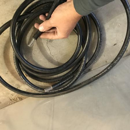 1/0 awg copper wire - 15' lengths... for sale  Canada